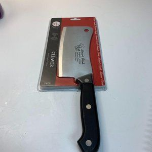 """Smart Cook Cutlery Cleaver 6"""" Stainless Germany De"""